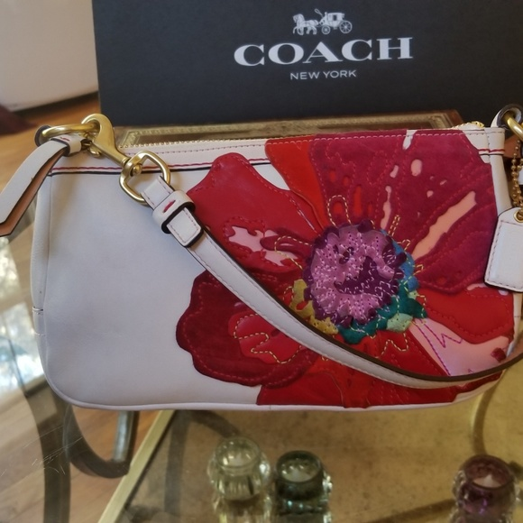 Coach bags limited edition leather poppy flower bag poshmark limited edition leather coach poppy flower bag mightylinksfo